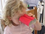 Bird Binnoculars: Bird crafts for kids