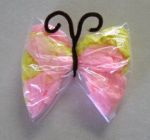 Bag butterfly (kid craft)