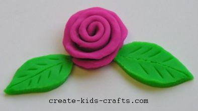 playdough rose