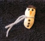 snowman pin (create kids crafts)