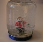 snowstorm in a jar (create kids crafts)